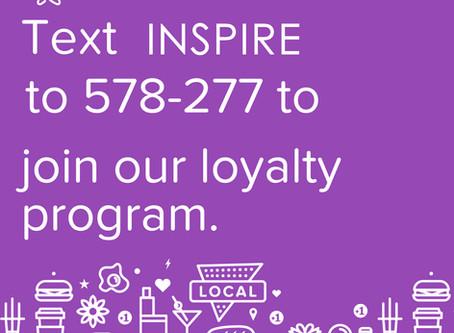 Our New Rewards Program