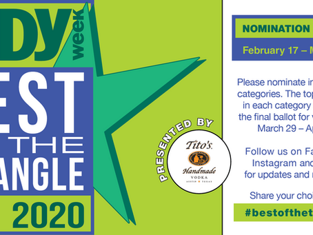 Please Nominate Us