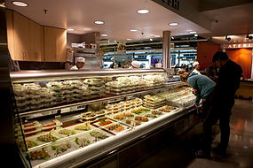 Sushi at a grocery store