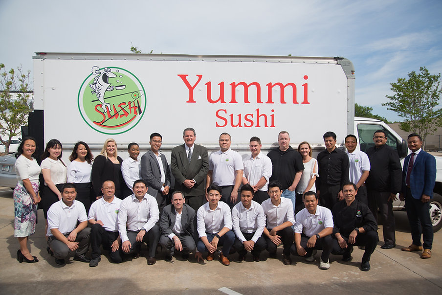 Yummi Sushi Corporate Staff