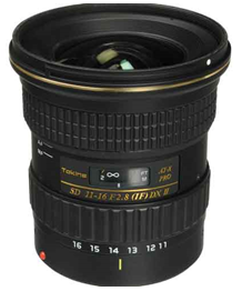 Tokina AT-X 116 PRO DX-II 11-16mm f/2.8 Lens for C