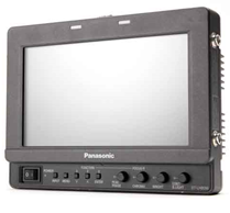 "Panasonic BT-LH80W 7.9"" HD monitor."