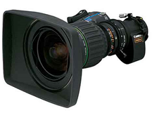 Canon HD wide lens HJ11ex4.7B 2/3' B4 with 2x exte