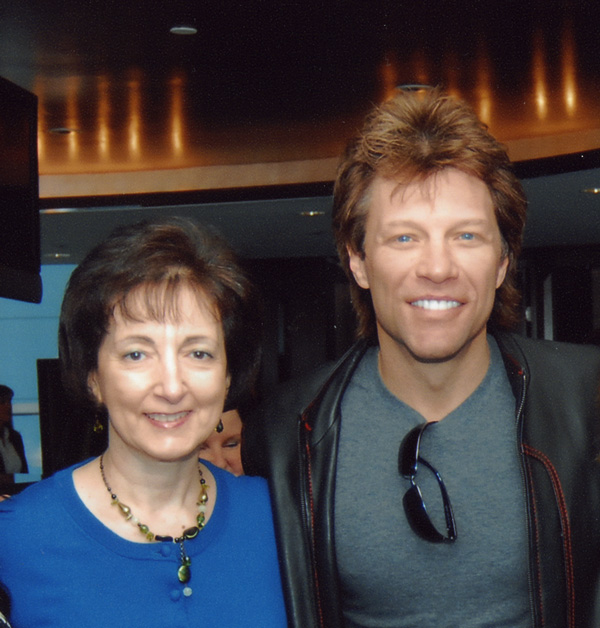 Dr. Moser with Jon Bon Jovi
