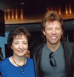 Dr. Moser with Jon Bon Jovi