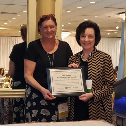 The Brain Injury Alliance of New Jersey has named Dr. Rosemarie Moser the recipient of the 2019 Jill