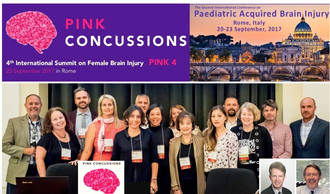 Dr. Moser presents new research on gender differences in concussion symptoms in youth at PINK 4 Summ
