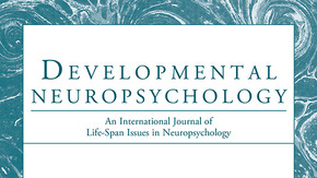 Drs. Rosemarie Moser and Philip Schatz publish new research in the journal: Developmental Neuropsych