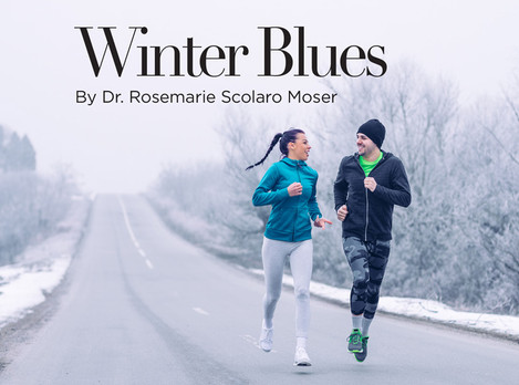 How to cope with the Winter Blues in Princeton Magazine by Dr. Rosemarie Moser
