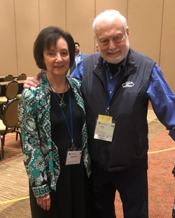 Dr. Moser with Dr. Alan Ashare