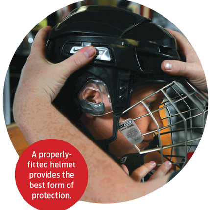 Use Your Head To Protect Your Head article featured in USA Hockey Magazine.