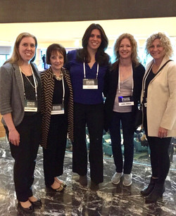 Dr Moser with International Women Concussion Colleagues