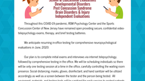 COVID-19 June Update: Resuming In-Office Testing