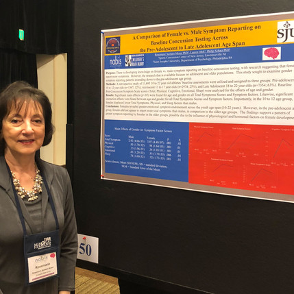 Dr. Moser Presents New Research on Female Concussions at the North American Brain Injury Society and