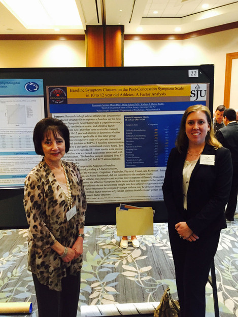 Drs. Moser and Murray present their research at SNS 2016