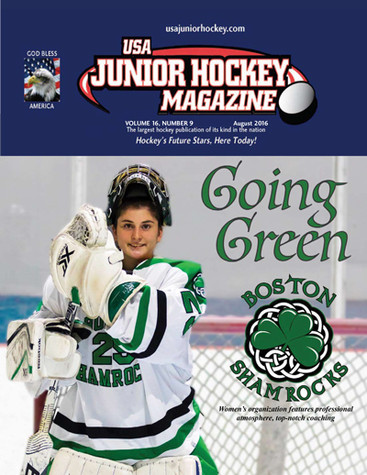 """Not Just for Boys: Concussion in Women's Hockey"""" by Dr. Moser in August issue 2016 of  USA Junior Ho"""