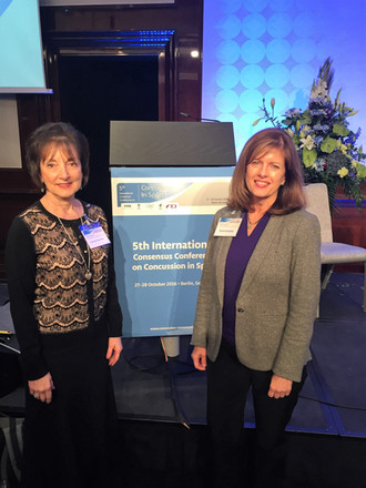 Dr. Moser, Dr. Broshek, and Dr. Schatz participate in the International Consensus Conference in Berl