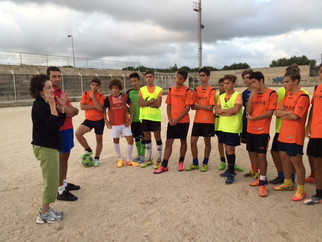 Dr. Moser introduces Brain Hygiene to Youth Soccer in Pozzallo, Sicily, Italy