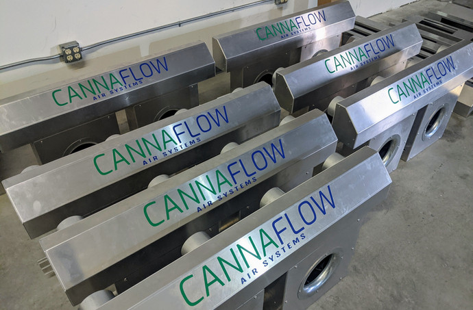 Cannaflow Units Ready for Shipping