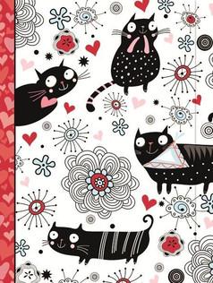 Journal - Doodle Cat