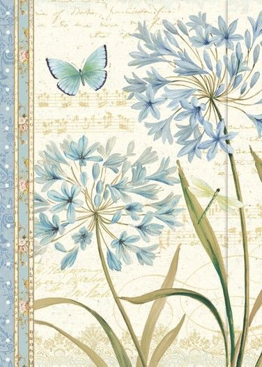 Small Journal - Blue Melody