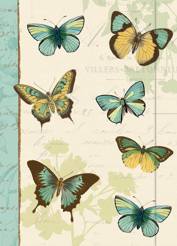 Small Journal - Butterfly Patchwork - 03