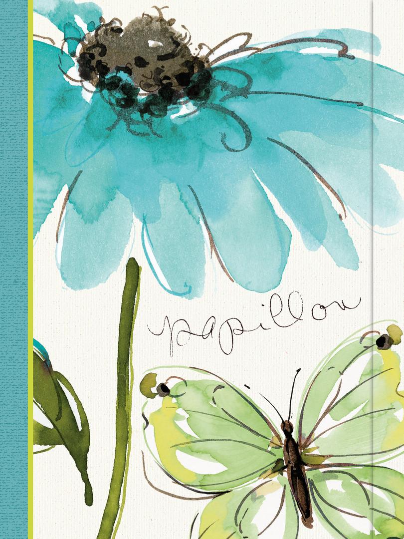 Journal - Butterfly Flower