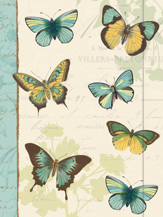 Small Journal - Butterfly Patchwork