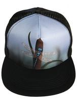 Flat Visor Cap (Black) - Spring's Finale