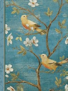 Small Journal - Blossom Blue