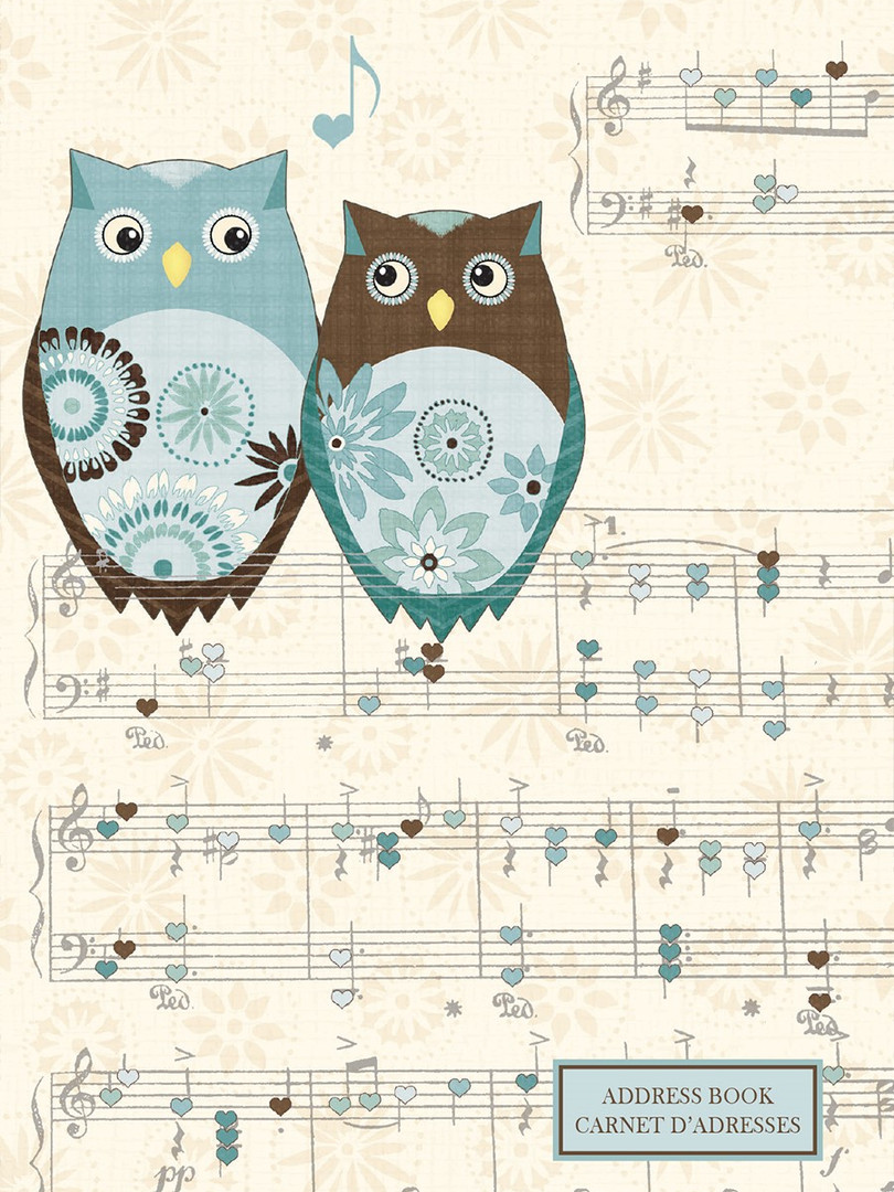Address Book - Owl's Melody