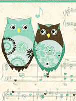 Soft Cover Journal - Owl's Melody