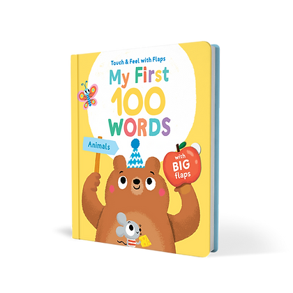 My First 100 Words to Touch and Feel - Animals