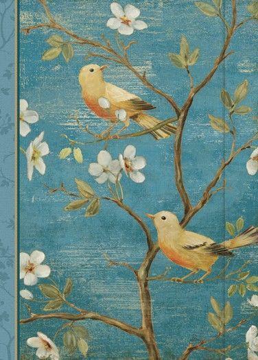 Address Book - Blossom Blue