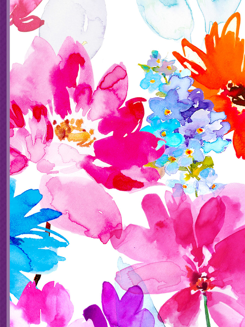 Small Journal - Colorful Flowers