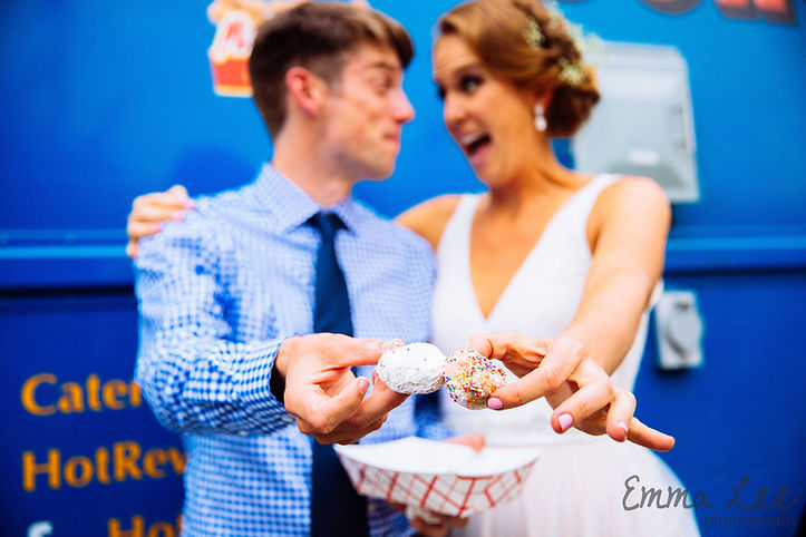 Hot Revolution Donuts caters weddings in Seattle, King County and WA State