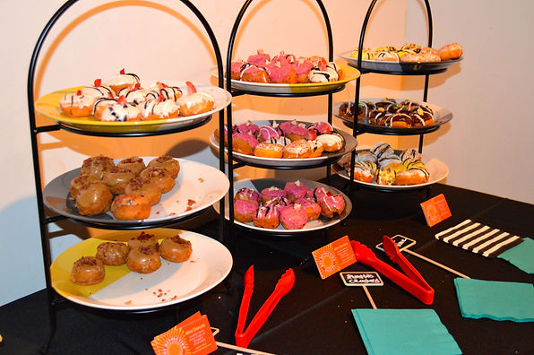 Catering mini donuts bar in Seattle, King County and WA State