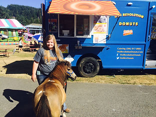 Hot Rev Donuts at festivals, markets and for catering; Seattle, King County, WA State