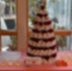 Hot Revolution Donuts mini donuts wedding cake catering in Seattle, King County and WA State