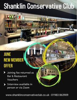 June New Member Offer