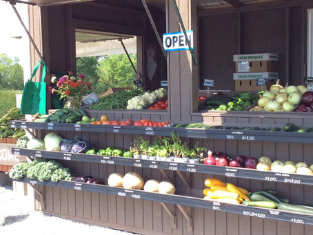 FARM STAND STOCKED