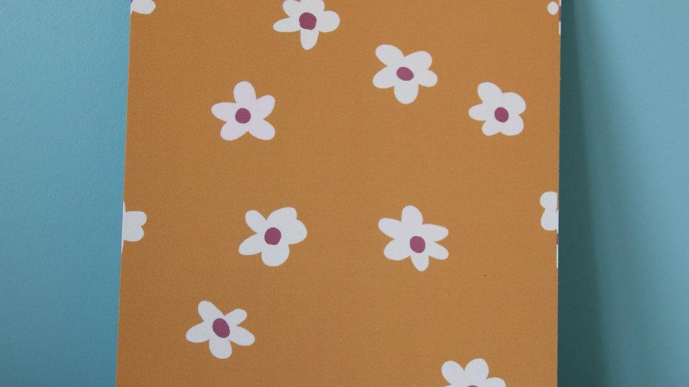 Kaartje Fleurige Bloemen