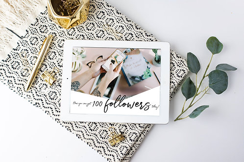 How You cCan Get 100 Instagram Followers Today