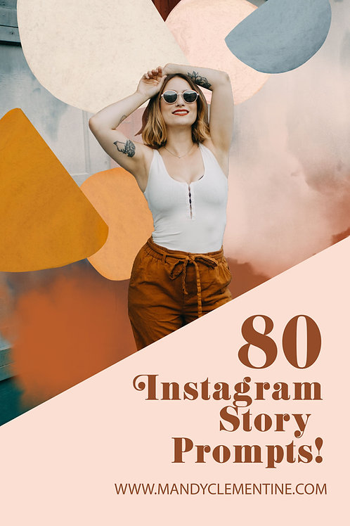 80 Instagram Story Prompts