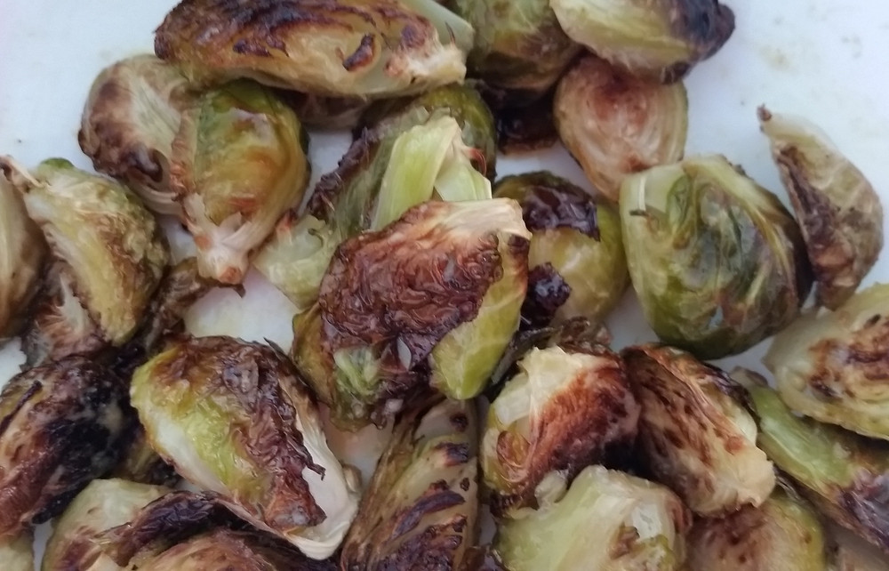 Sheet Pan Brussels Sprouts