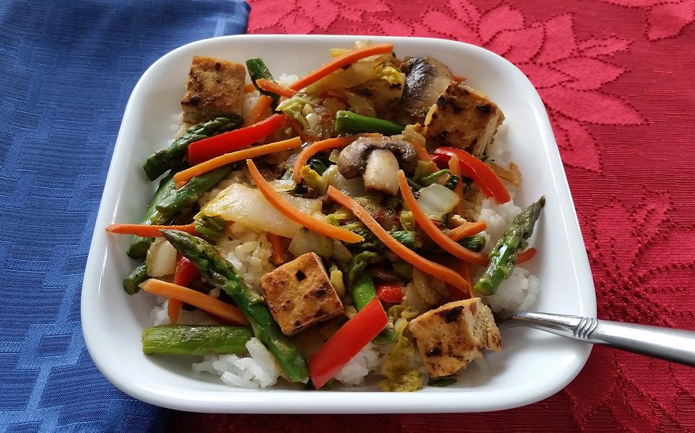 Vegan Gluten Free Stir-Fry