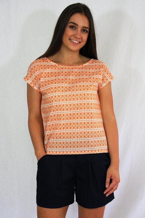 The Lucy Tee - Orange