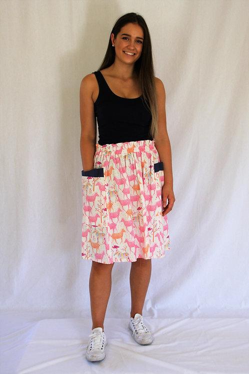 Maya Skirt - Party Zebra