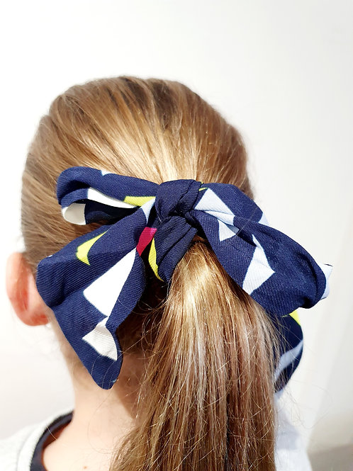 Ponytail  Bows - Triangles