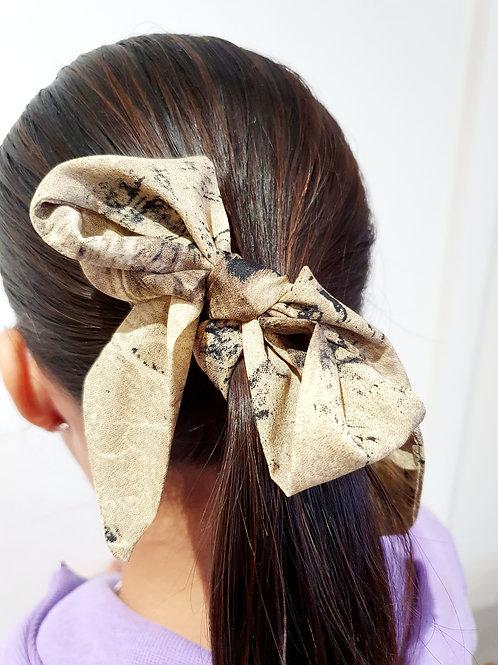 Ponytail Bows- Snake
